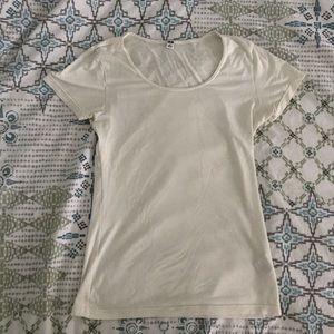Uniqlo Heattech White Shirt S